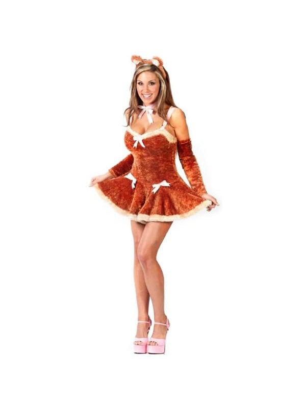 sc 1 st  Costumeish.com & Adult Sexy Teddy Bear Girl Costume