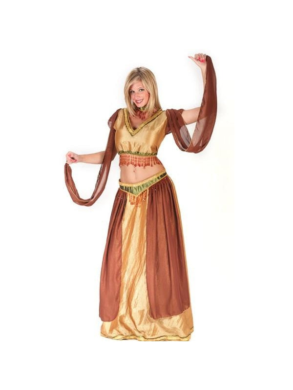 Adult Sexy Belly Dancer Girl Costume-COSTUMEISH