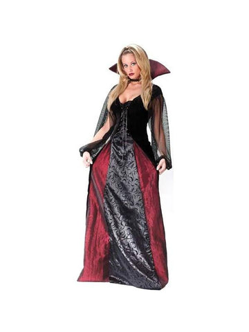 Adult Goth Maiden Vampiress Costume-COSTUMEISH