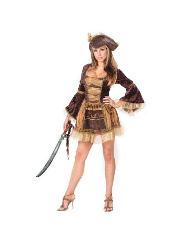 Adult Sexy Victorian Pirate Costume-COSTUMEISH