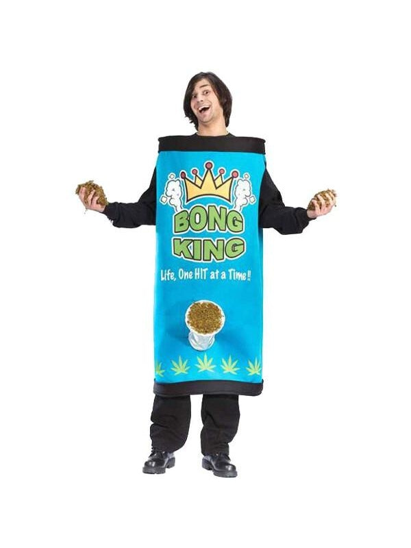 Adult Bong King Costume-COSTUMEISH