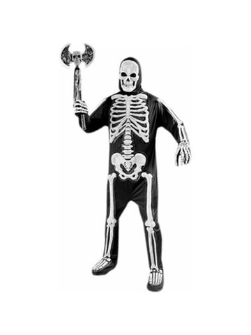 Adult Deluxe Skeleton Costume-COSTUMEISH