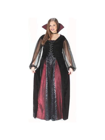 Adult Plus Size Maiden Vampiress Costume-COSTUMEISH