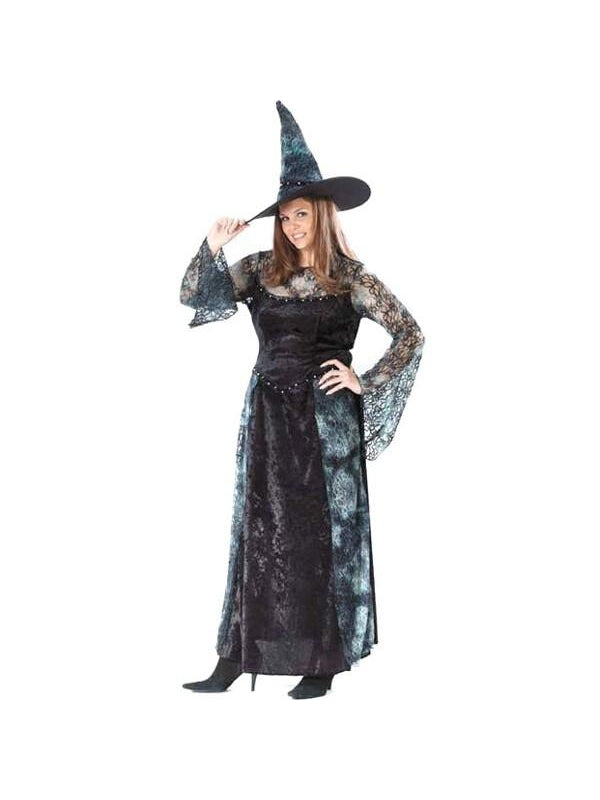 Adult Plus Size Sorceress Costume-COSTUMEISH