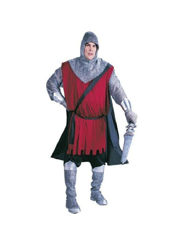 Adult Plus Size Medieval Knight Costume-COSTUMEISH