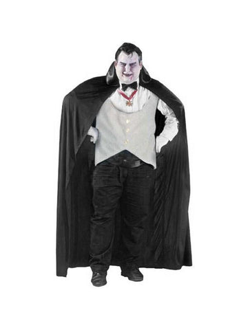 Adult Plus Size Complete Dracula Costume-COSTUMEISH