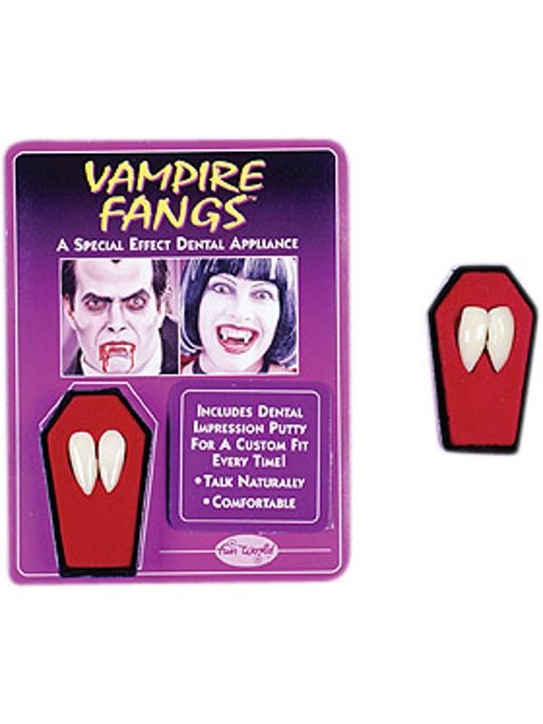 Adult FX Vampire Fangs-COSTUMEISH