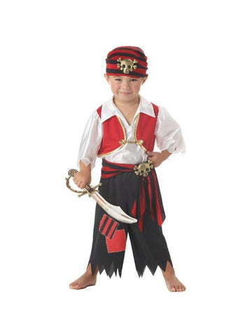 Toddler Boy Ahoy Pirate Costume