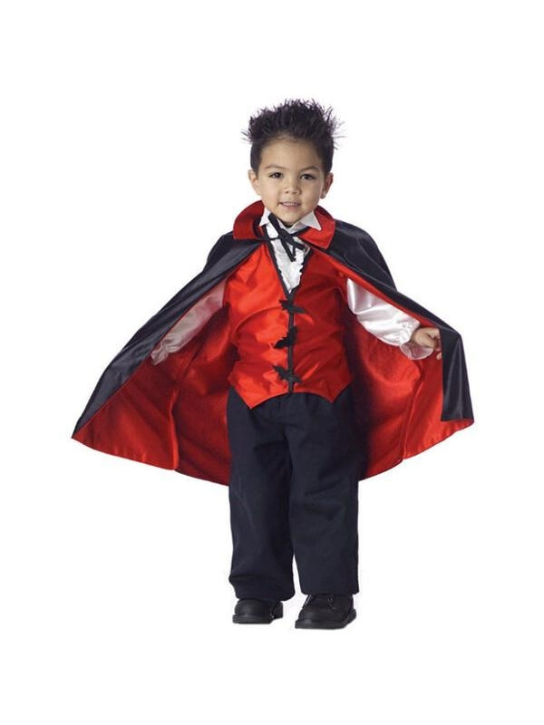 Toddler Cute Vampire Costume-COSTUMEISH
