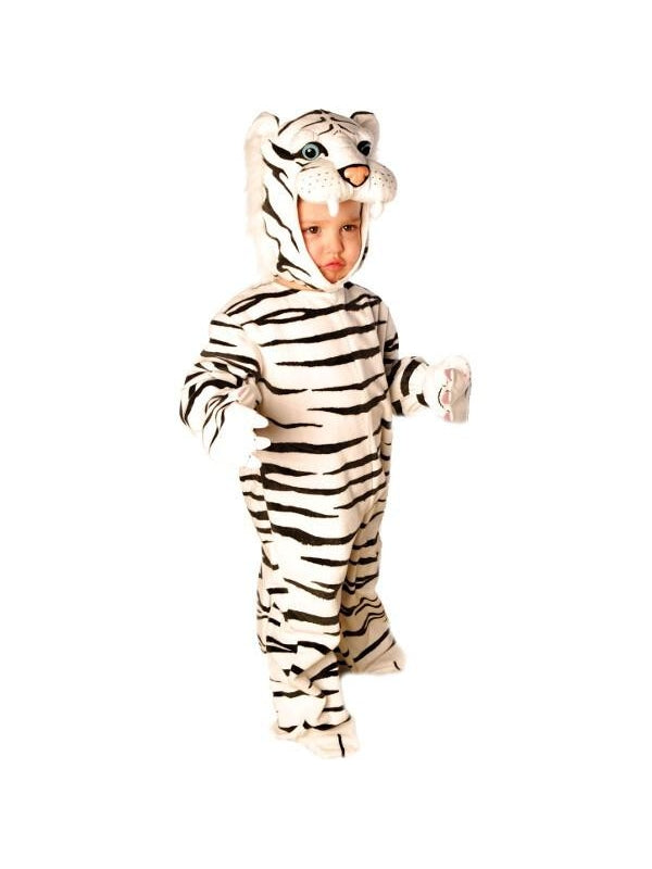 Baby White Tiger Costume-COSTUMEISH