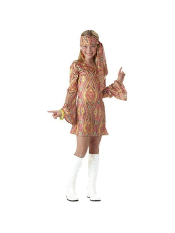 Child's Disco Girl Costume-COSTUMEISH