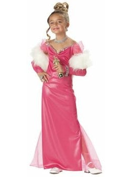 Child Hollywood Starlet Costume-COSTUMEISH