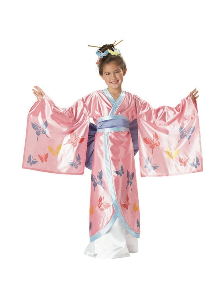 Child's Japanese Princess Kimono Costume-COSTUMEISH