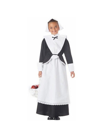 Child's Pilgrim Girl Costume-COSTUMEISH
