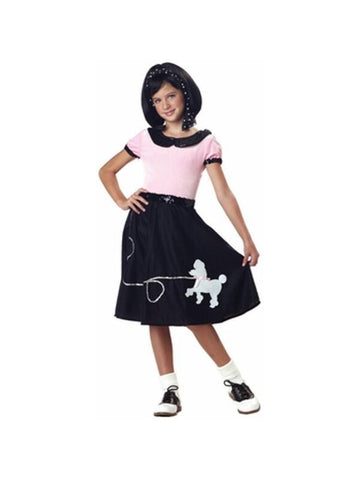 Child's Black Poodle Dress Costume
