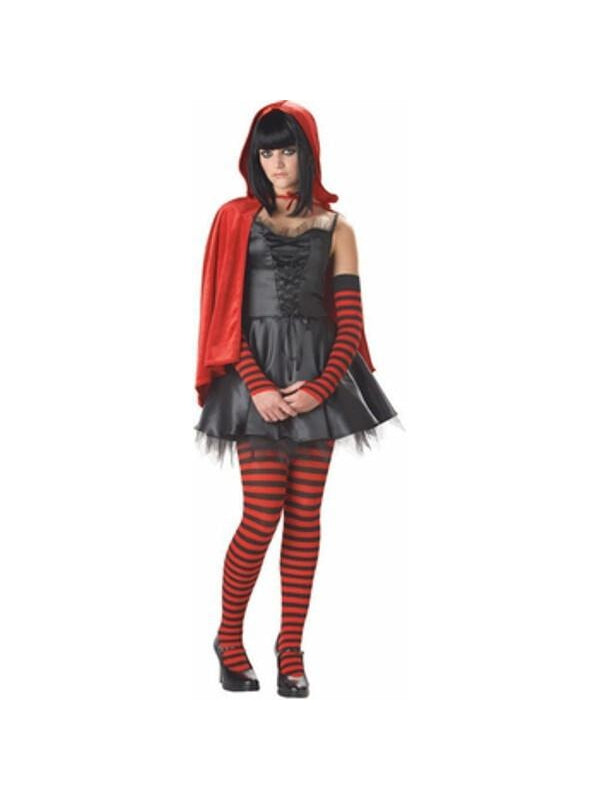 Teen Little Dead Riding Hood Costume-COSTUMEISH