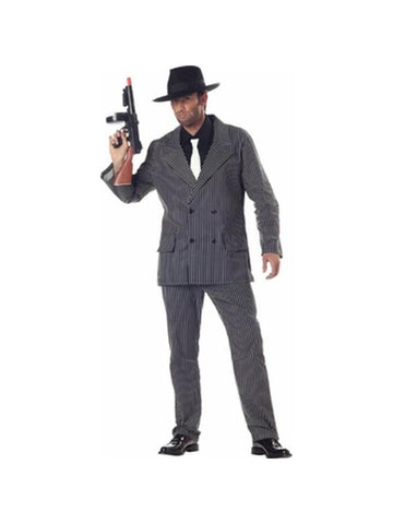Adult Al Capone Gangster Costume-COSTUMEISH