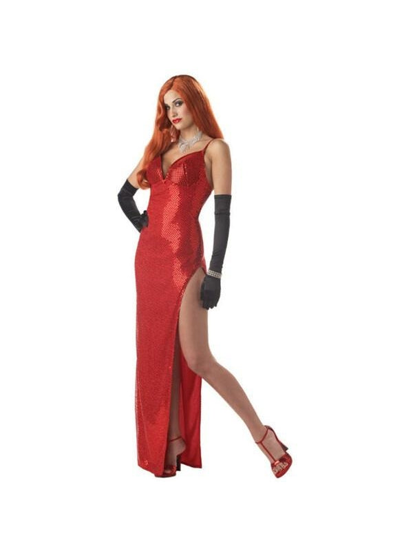 Adult Jessica Rabbit Costume-COSTUMEISH