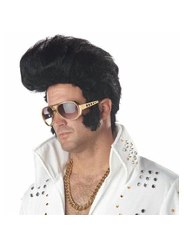 Elvis Legend Costume Hairpiece-COSTUMEISH