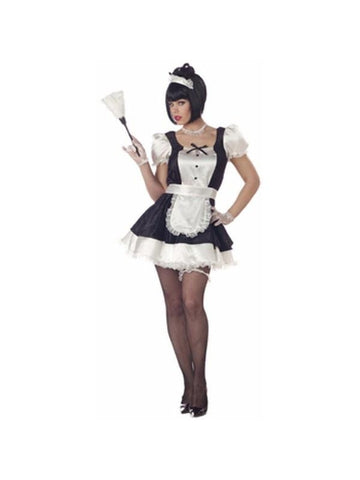 Adult Sexy Fiona French Maid Costume-COSTUMEISH