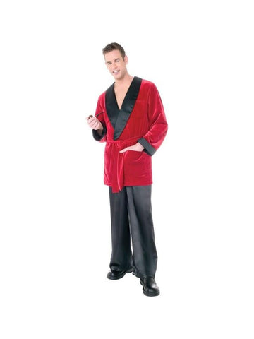 Adult Hugh Hefner Playboy Costume