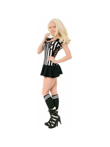Teen Sexy Playboy Referee Costume