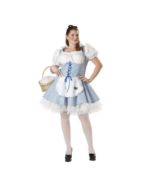 Teen Plus Size Sexy Dorothy Costume-COSTUMEISH