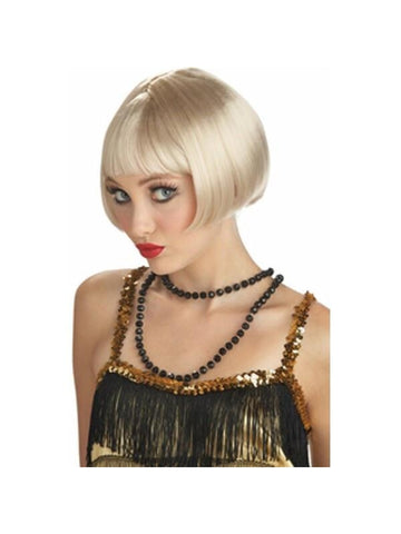 Blonde Flirty Flapper Wig-COSTUMEISH