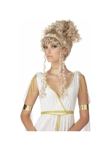 Blonde Athenian Goddess Wig-COSTUMEISH