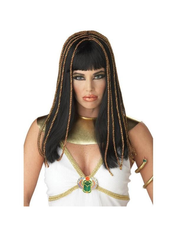 Egyptian Cleopatra Princess Costume Wig-COSTUMEISH