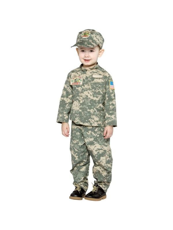 Toddler US ARMY Uniform Costume-COSTUMEISH