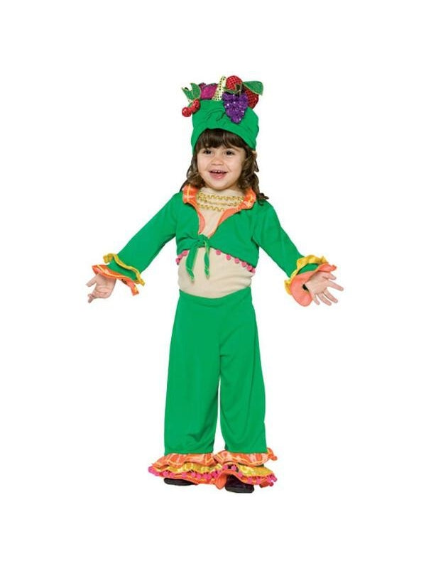 Toddler Carmen Miranda Costume-COSTUMEISH