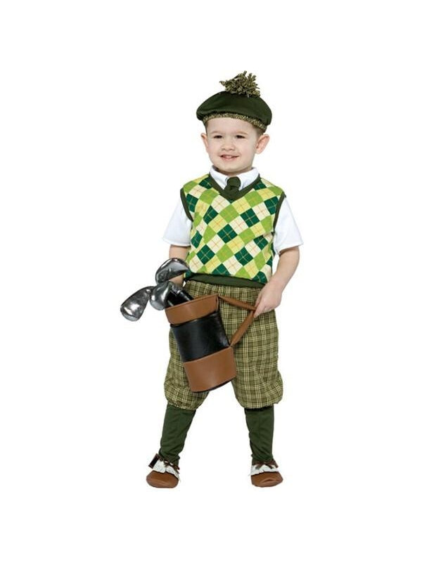 Toddler Golfer Costume-COSTUMEISH