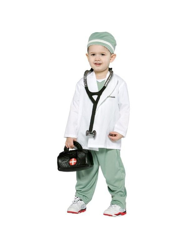 Toddler Future Doctor Costume-COSTUMEISH