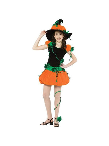 Teen Pumpkin Witch Costume-COSTUMEISH