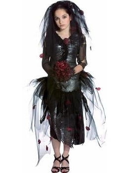 Teen Prom Zombie Girl Costume-COSTUMEISH