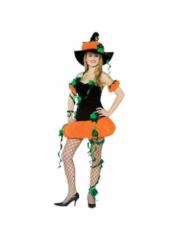 Adult Pumpkin Lady Costume-COSTUMEISH