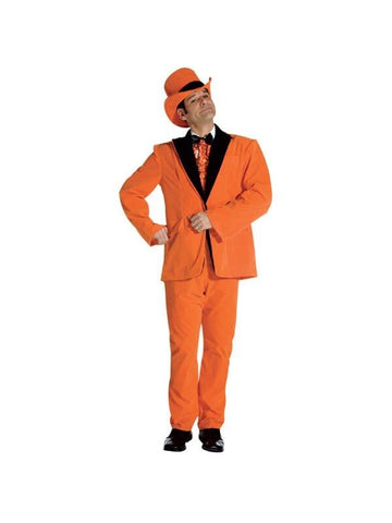 Adult Orange Dumb And Dumber Tuxedo Costume