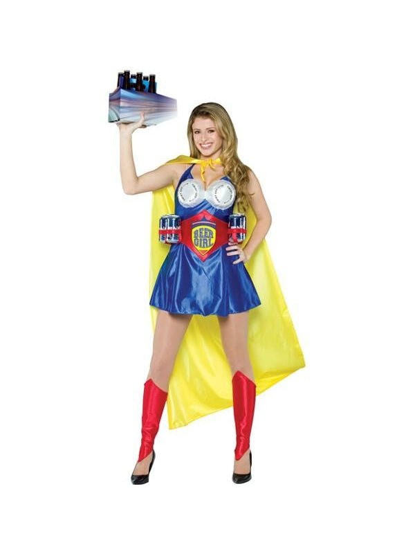 Adult Beer Girl Costume-COSTUMEISH