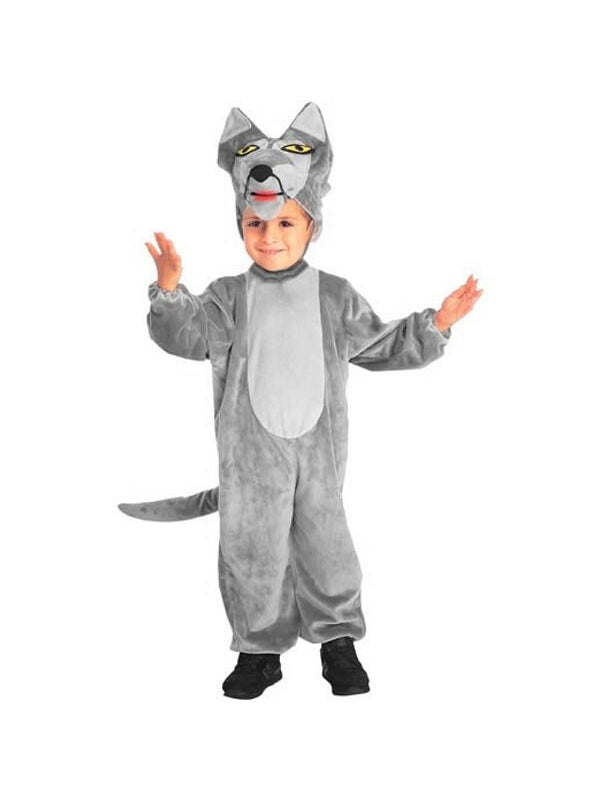 Toddler Big Bad Wolf Costume-COSTUMEISH