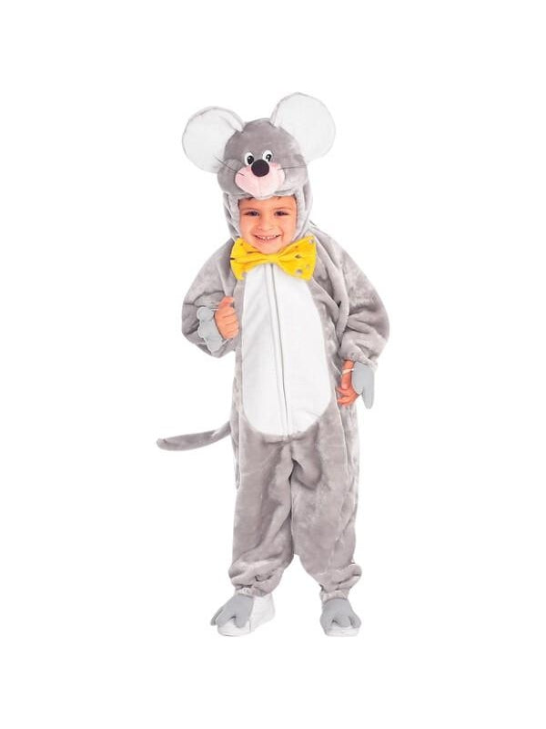 Child's Plush Mouse Costume-COSTUMEISH
