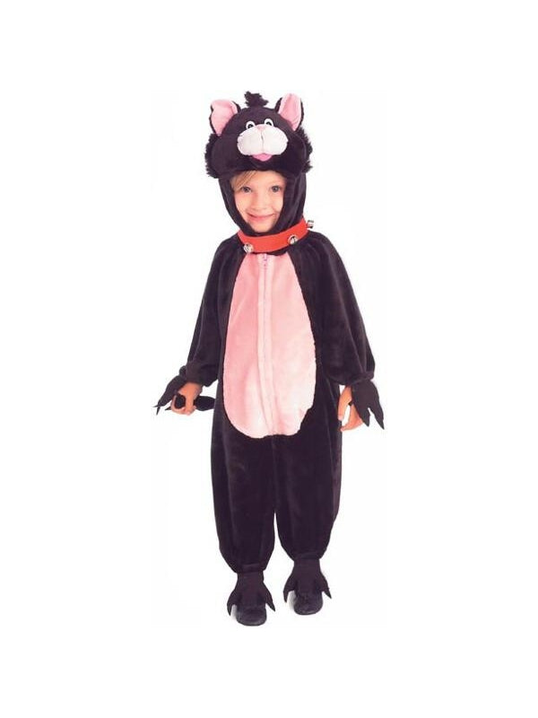 Child's Cute Black Cat Costume-COSTUMEISH