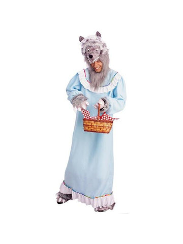 Adult Granny Wolf Costume-COSTUMEISH