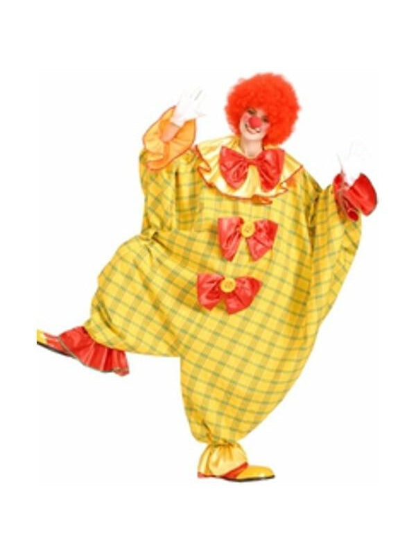Adult Women's Maternity Clown Costume-COSTUMEISH