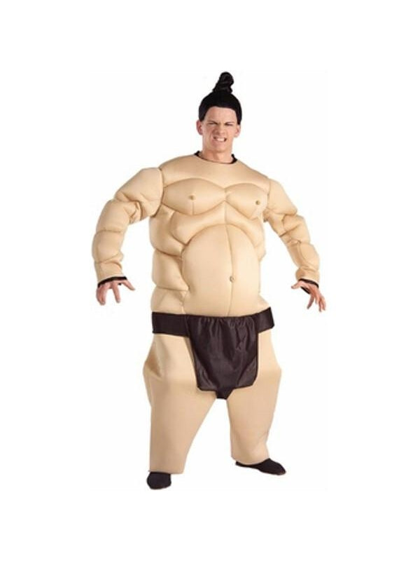 Adult Fat Muscle Sumo Wrestler Costume-COSTUMEISH