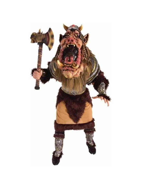 Adult Scary Boar Warrior Costume-COSTUMEISH
