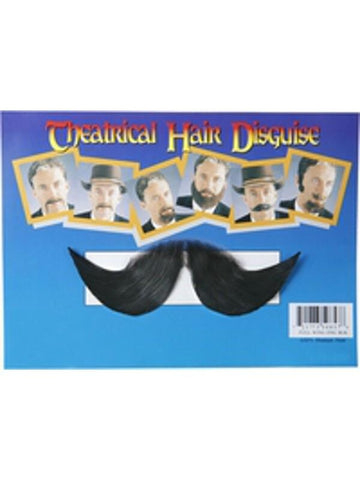 Adult Winged Englishman Fake Moustache-COSTUMEISH