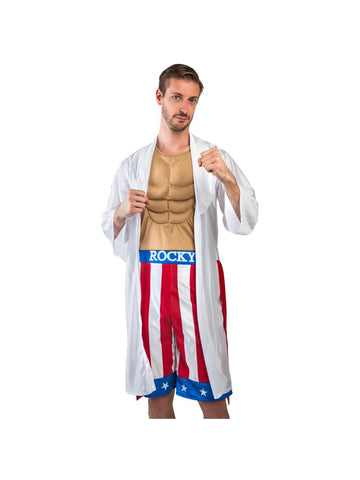 Adult Rocky Boxer Costume-COSTUMEISH