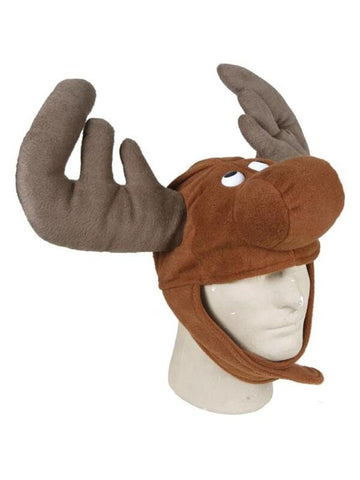 Adult Moose Costume Hat-COSTUMEISH
