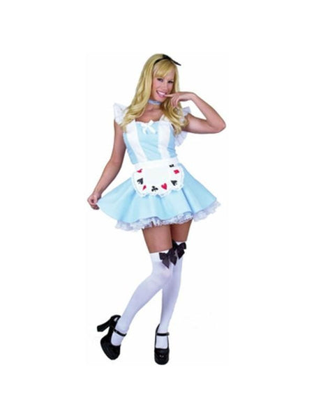 adult sexy alice in wonderland costume costumeish cheap adult halloween costumes fast shipping. Black Bedroom Furniture Sets. Home Design Ideas